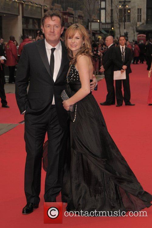 Piers Morgan and Amanda Holden at British Academy...