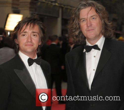 Richard Hammond and James May at British Academy...