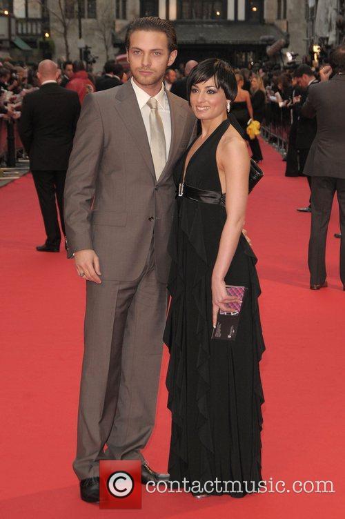 Matt Di Angelo and Flavia Cacace at British...