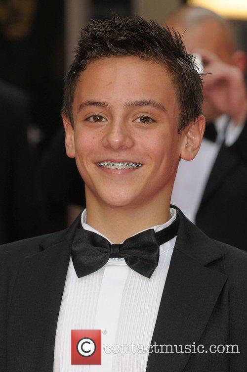 Tom Daley at British Academy Television Awards (BAFTA)...
