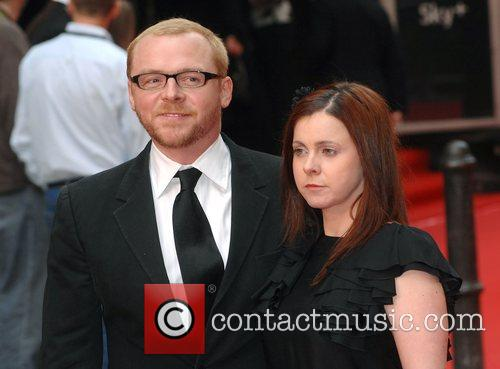 Simon Pegg and Maureen Mccann 6