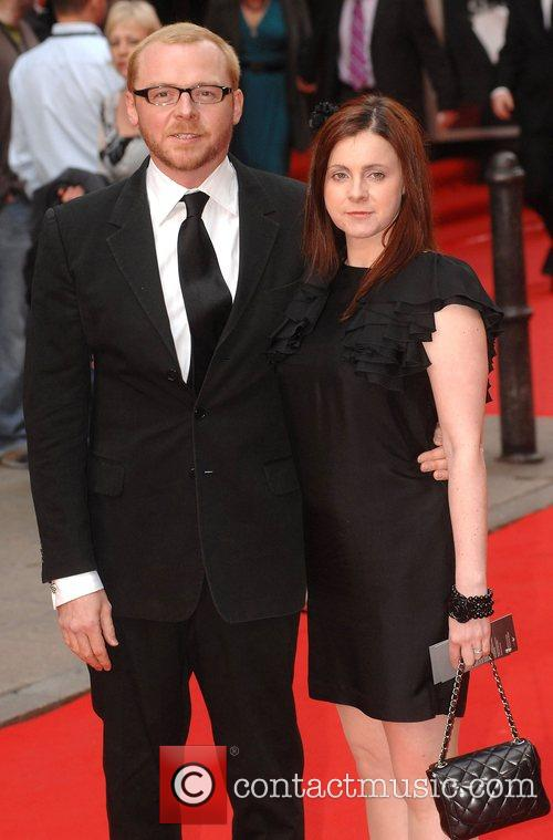 Simon Pegg and Maureen Mccann 5
