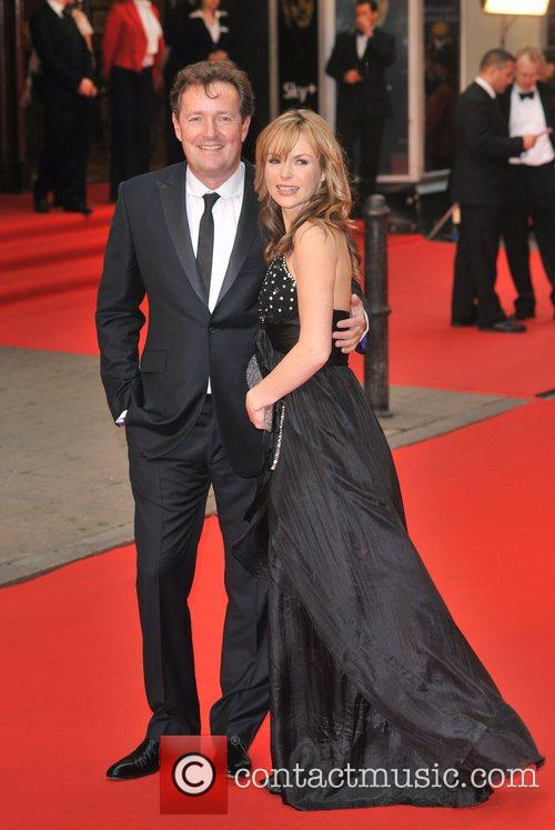 Amanda Holden and Piers Morgan British Academy Television...