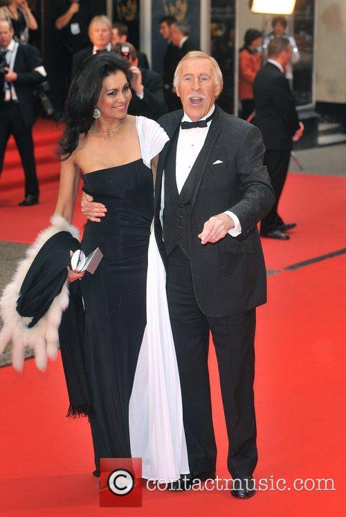 Bruce Forsyth and Wilnelia Merced  British Academy...
