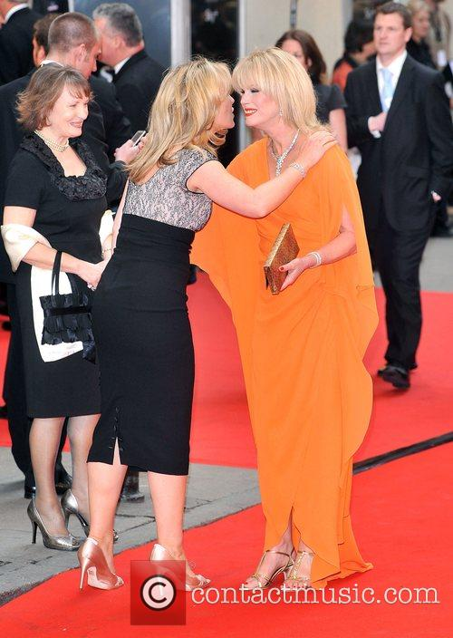 Kirsty Young and Joanna Lumley British Academy Television...