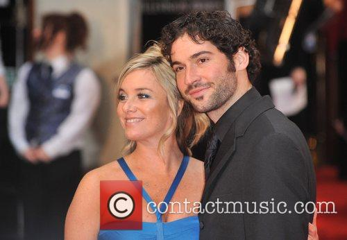 Tamsin Outhwaite and Tom Ellis British Academy Television...
