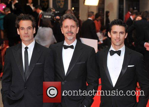 Adrian Pasdar and Milo Ventimiglia British Academy Television...