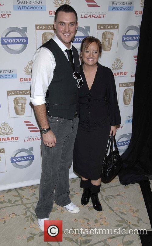 Owain Yeoman and Lucy Davis BAFTA/LA's 14th Annual...