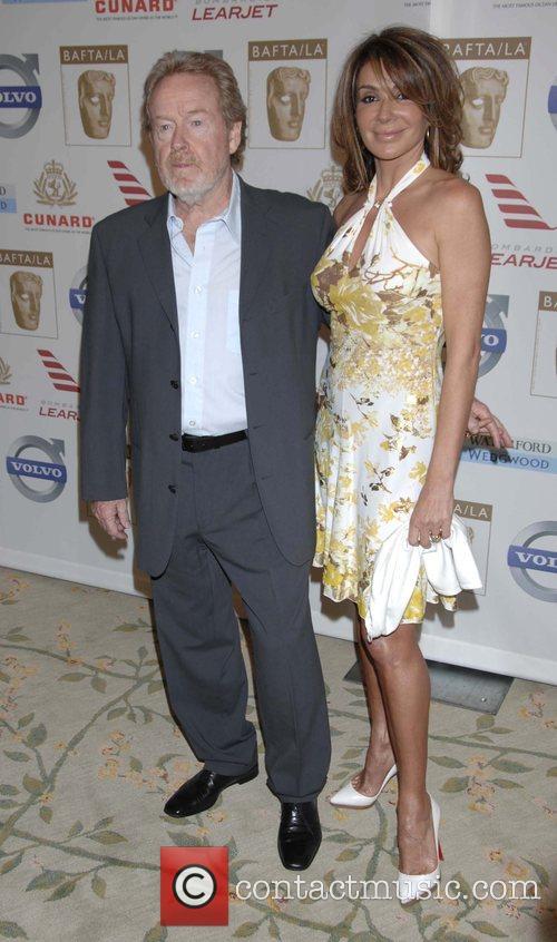 Ridley Scott and Giannina Facio BAFTA/LA's 14th Annual...