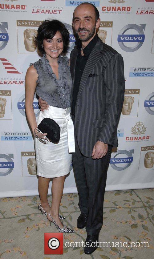 Shaun Toub and Guest BAFTA/LA's 14th Annual Awards...