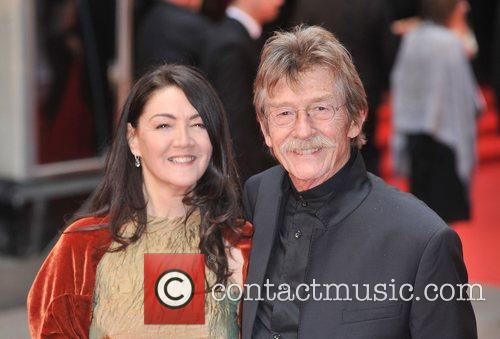 John Hurt and guest British Academy Television Awards...