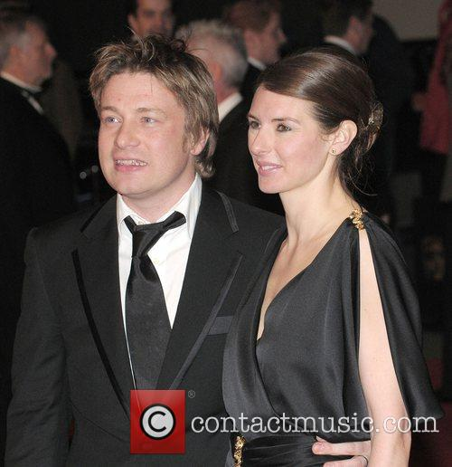Jamie Oliver, Jooles Oliver and British Academy Film Awards 2008 3