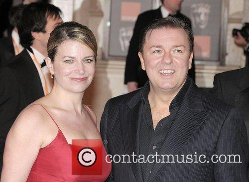 Ricky Gervais and British Academy Film Awards 2008 10