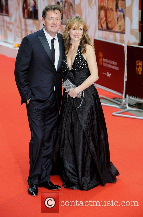 Piers Morgan and Amanda Holden British Academy Television...