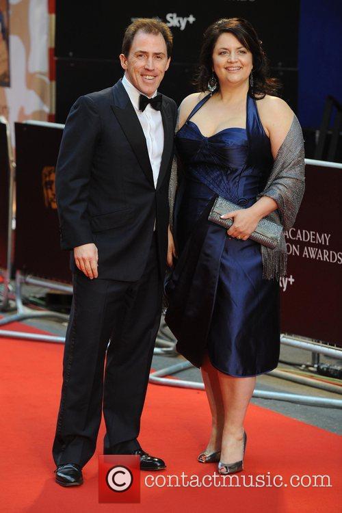 Rob Brydon and Ruth Jones British Academy Television...