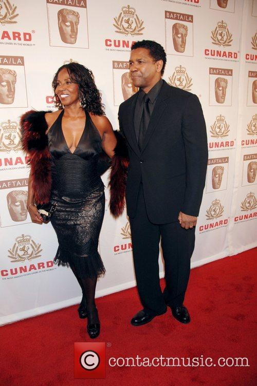 Denzel Washington and His Wife Pauletta Washington 5