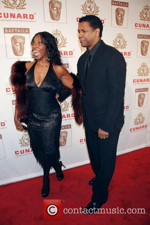 Denzel Washington and His Wife Pauletta Washington 2