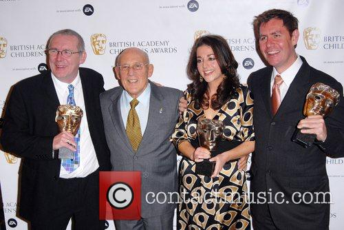 Stirling Moss (centre) and Guests British Academy Children's...