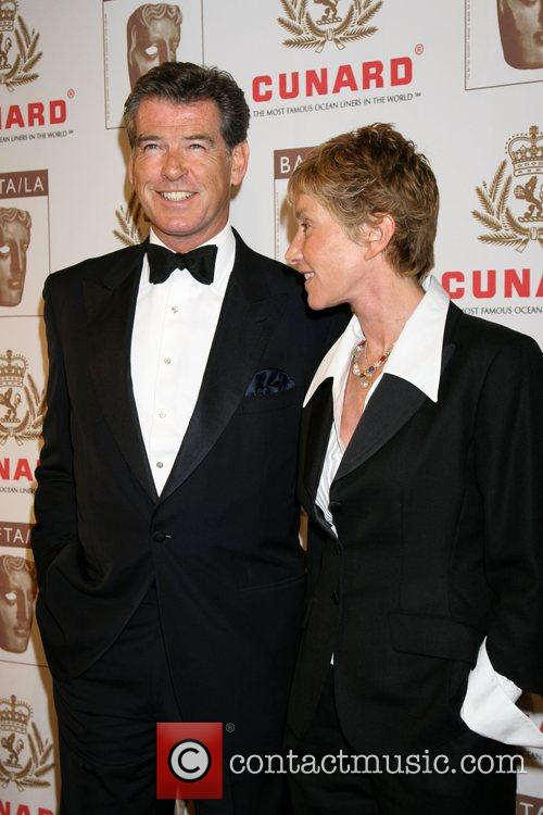 Pierce Brosnan and Co Producer 5