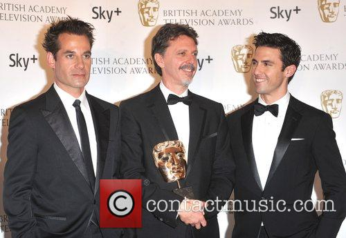 Adrian Pasdar, Jim Kring and Milo Ventimiglia...