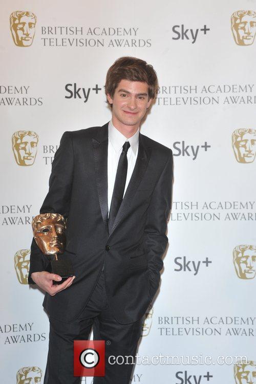 Andrew Garfield, British Academy Television Awards, London Palladium
