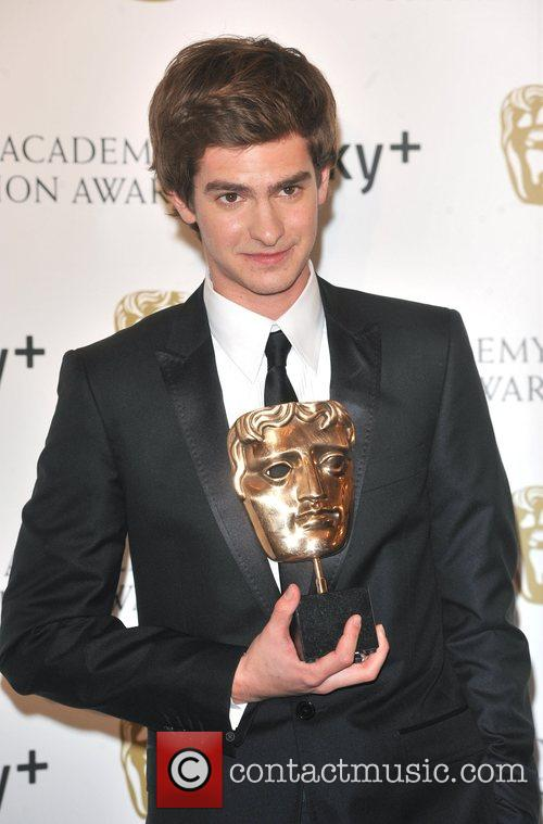 Andrew Garfield, British Academy Television Awards, London Palladium