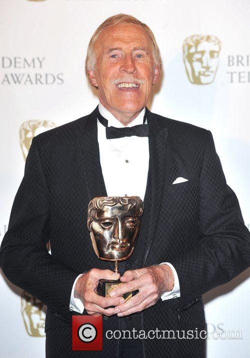 Bruce Forsythe  with his Academy Fellowship British...