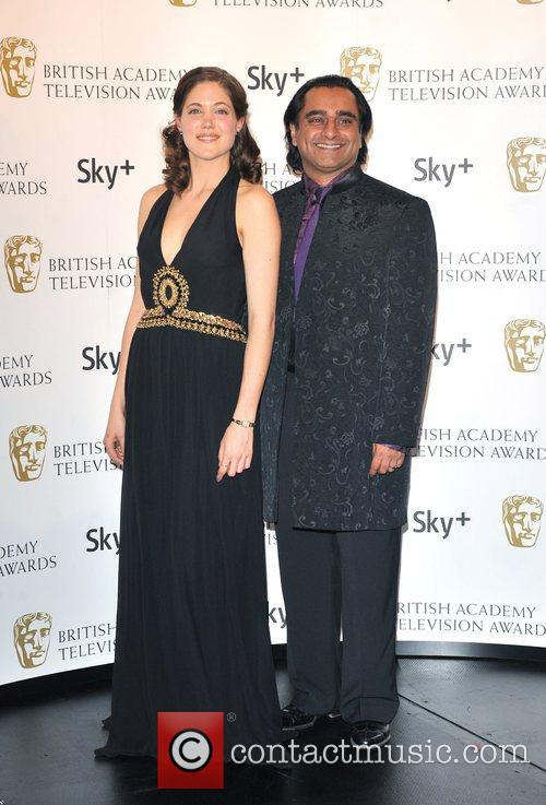 Charity Wakefield and Sanjeev Baskhar British Academy Television...