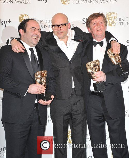 Harry Hill with guests British Academy Television Awards...