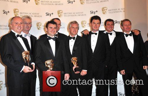ITV's Formula 1 team including Steve Ryder and...
