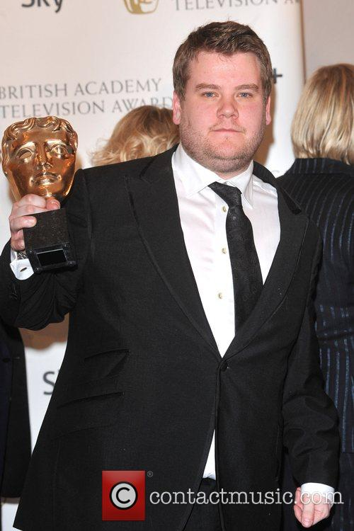 James Corden  with the Sky+ Audience Award...