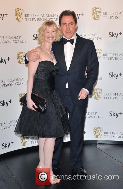Joanna Page and Rob Brydon British Academy Television...