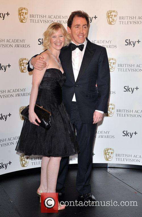 Joanna Page and Rob Brydon