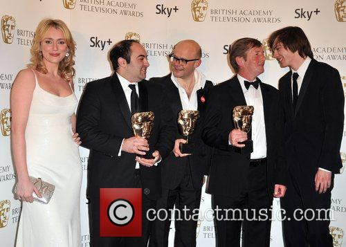 Keeley Hawes, guest, Harry Hill ,guest and Nicholas...