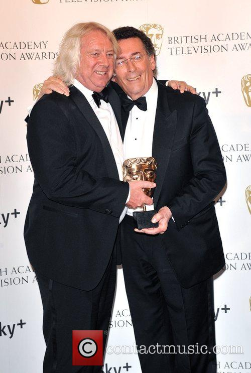 Writer Tony McHale with Robert Powell  and...