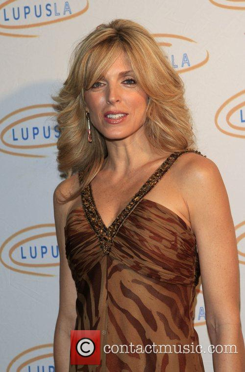 Marla Maples Hollywood Bag Ladies Lupus Luncheon benefit...