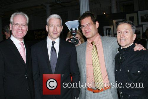 Tim Gunn and Anderson Cooper 5