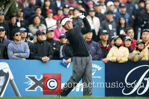 KJ Choi on the 1st round of The...