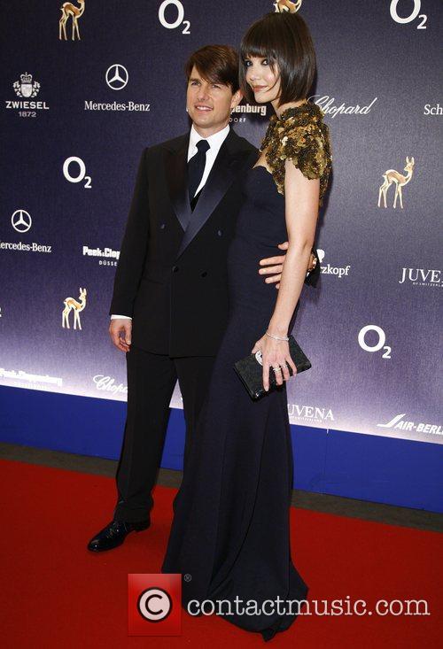 Tom Cruise, Katie Holmes 59th Bambi Awards at...