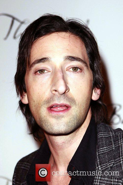 Adrien Brody The Bank Night Club Grand Opening...