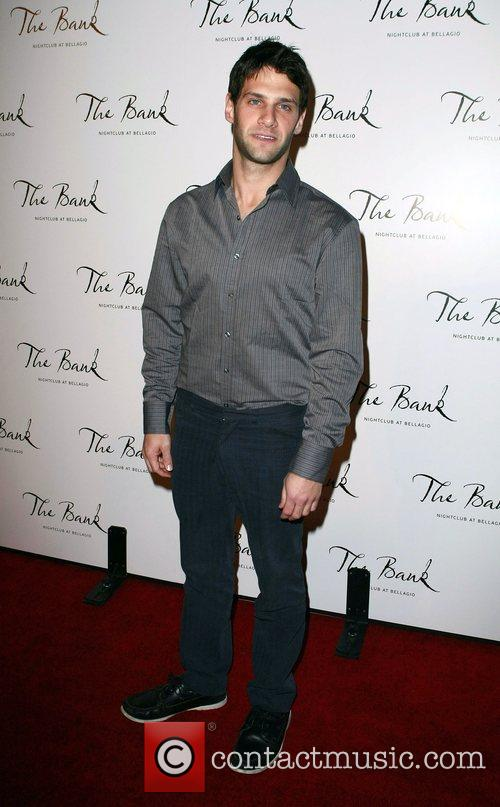 Justin Bartha The Bank Night Club Grand Opening...