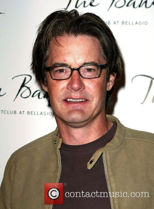 Kyle MacLachlan The Bank Night Club Grand Opening...