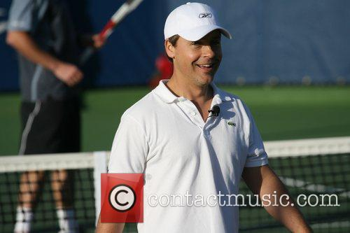 Chad Lowe Bank of the West Pro-Celebrity Tennis...
