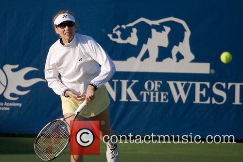 Monica Seles Bank of the West Pro-Celebrity Tennis...