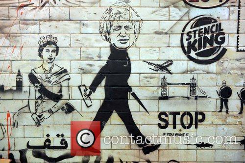 Banksy Exhibit, Cans Festival