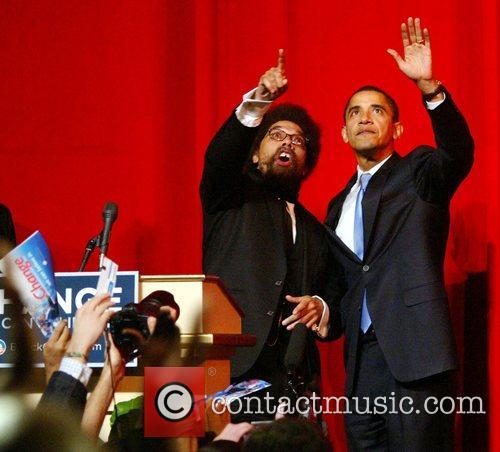 Professor Cornell West and Senator Barack Obama A...