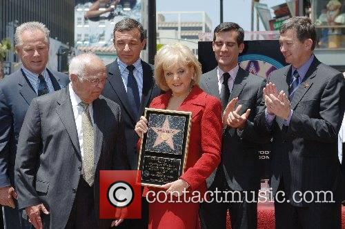 Honored with the 2340th Star on the Hollywood...