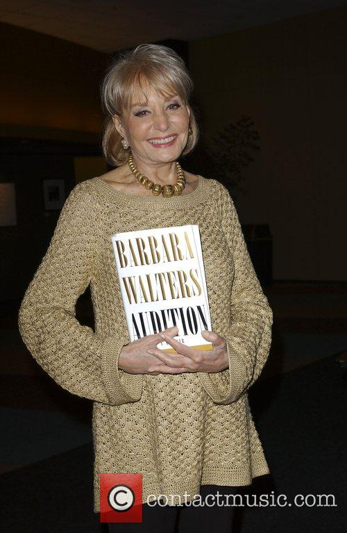 Signing copies of her new book 'Audition: A...