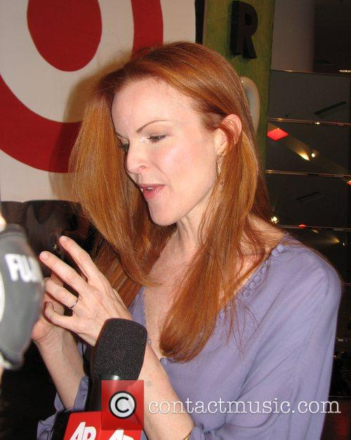 Marcia Cross attending a private after-hours party at...