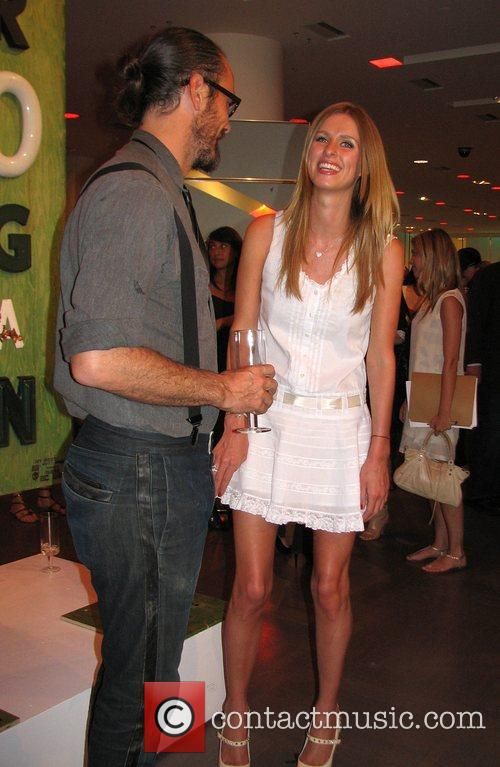 Rogan and Nicky Hilton attending a private after-hours...